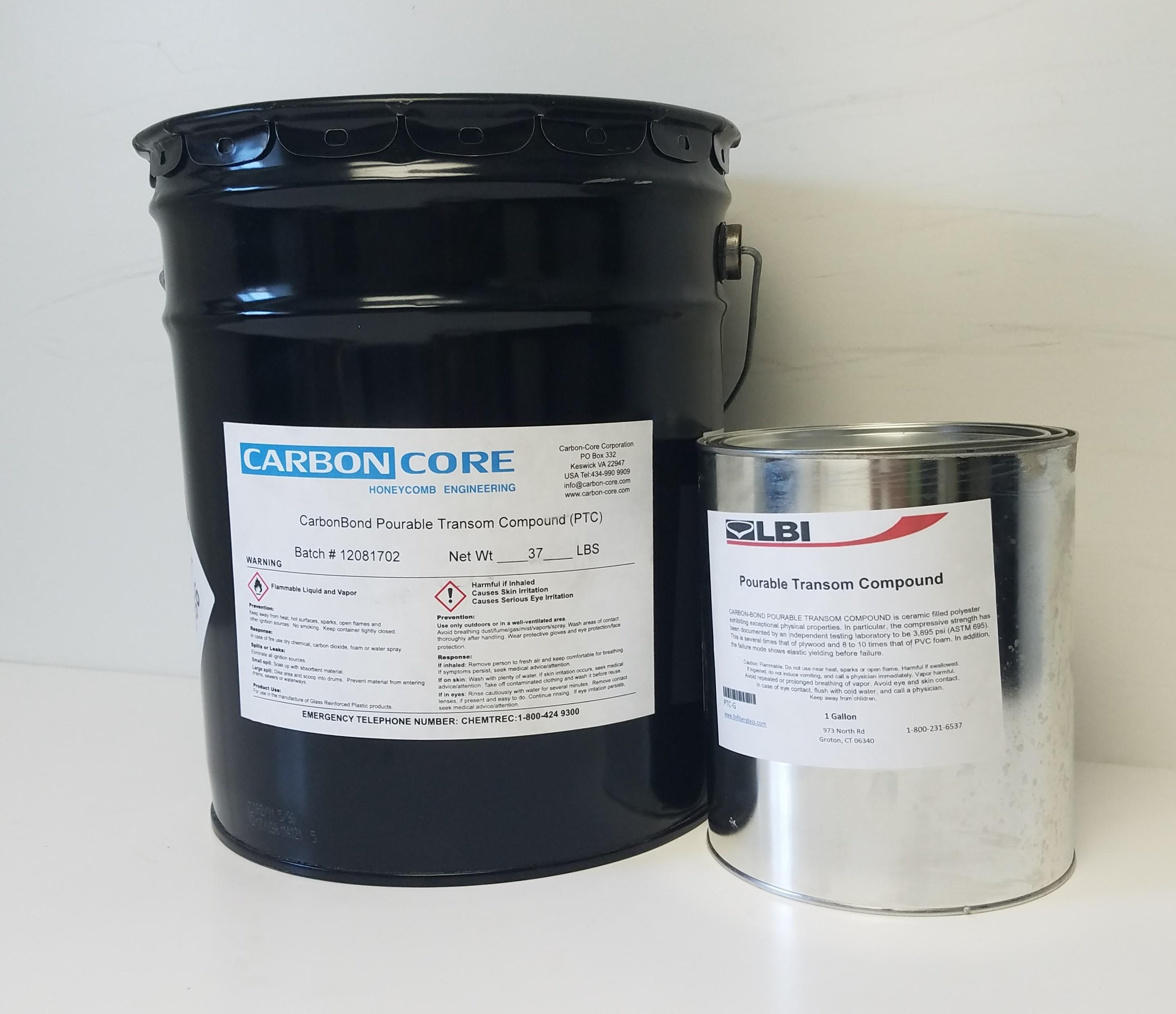 CarbonBond Pourable Transom Compound