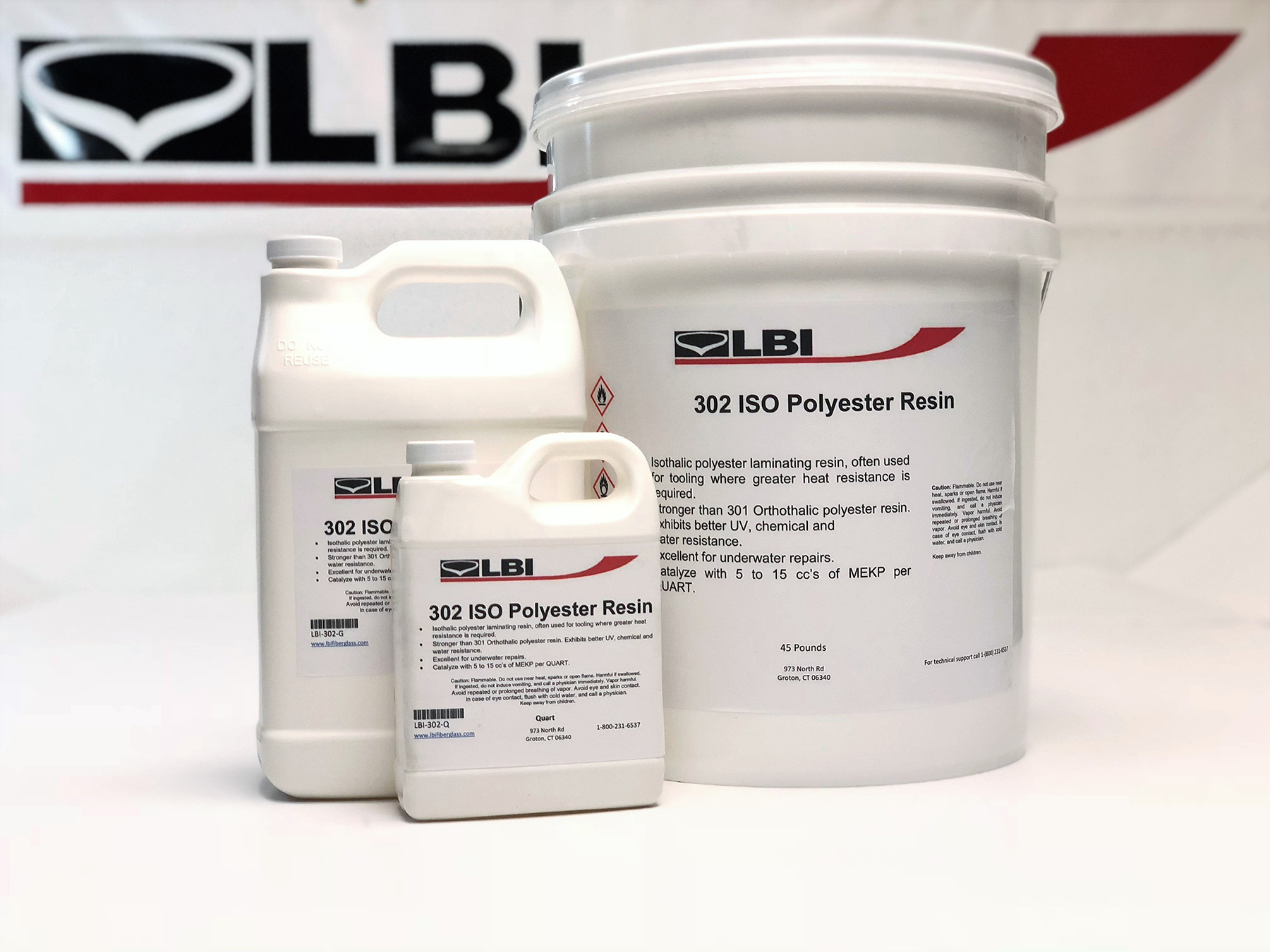 302 ISO Polyester Resin