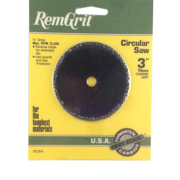 RemGrit Carbide Grit Circular Saw Blades