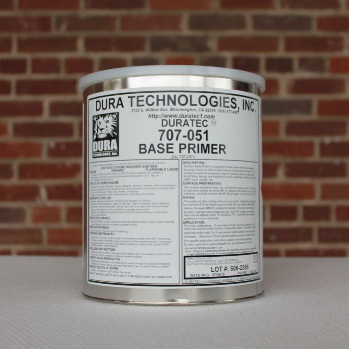 Duratec High Build 40-70mils (Tan) Polyester Base Primer , 1 Gallon