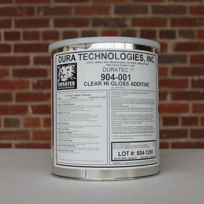 Duratec Polyester Hi Gloss Additive
