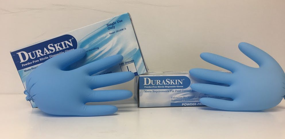 Nitrile Latex Free Exam Gloves