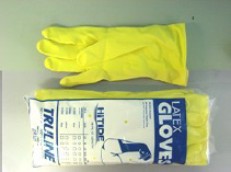 Flock Lined Latex Gloves
