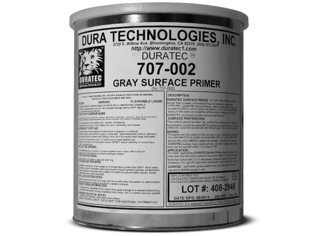 Duratec Polyester Surface Primer (Grey)
