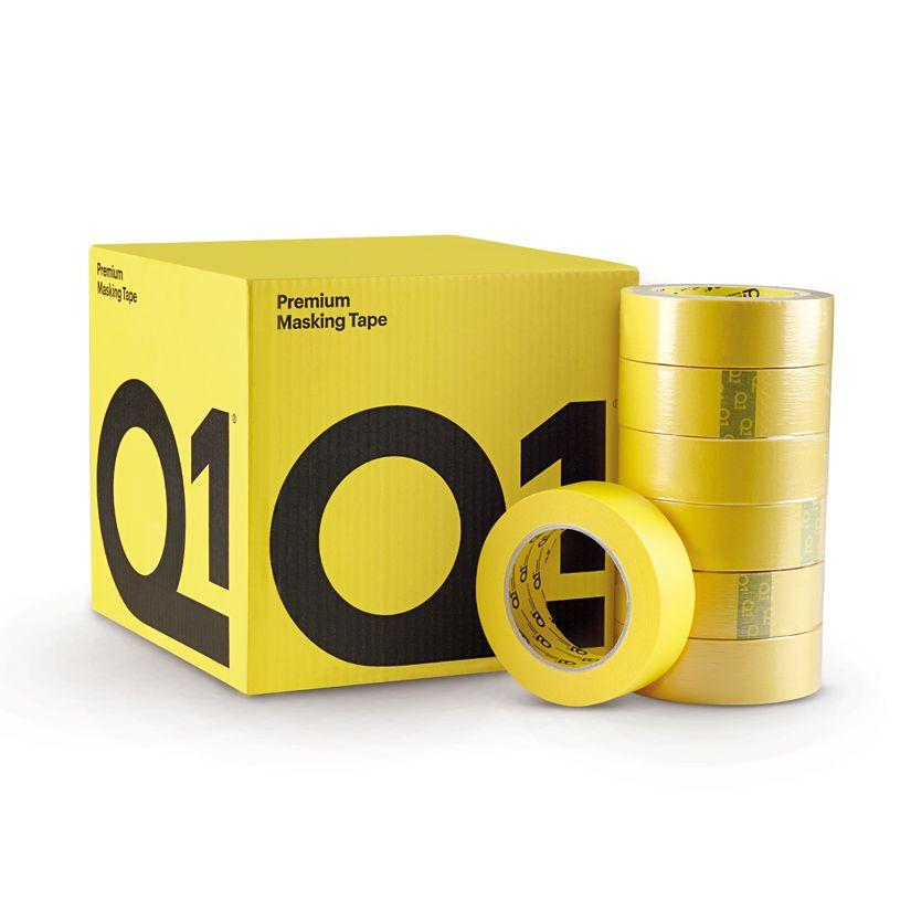 Q1 Premium Yellow Masking Tape